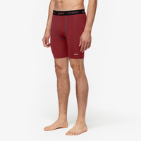 "Eastbay EVAPOR 8"" Compression Shorts 2.0 - Men's - Cardinal / Black"