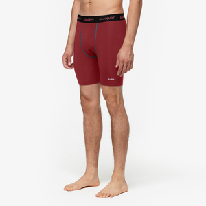 "Eastbay EVAPOR 8"" Compression Shorts 2.0 - Men's - Cardinal"