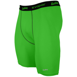 "Eastbay EVAPOR 8"" Compression Shorts 2.0 - Men's - Rage Green"