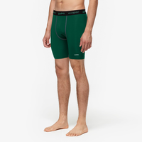 "Eastbay EVAPOR 8"" Compression Shorts 2.0 - Men's - Green / Black"