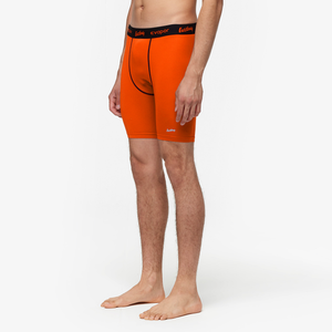 "Eastbay EVAPOR 8"" Compression Shorts 2.0 - Men's - Orange"