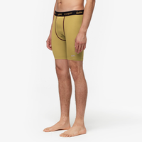 "Eastbay EVAPOR 8"" Compression Shorts 2.0 - Men's - Gold / Black"