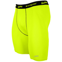 "Eastbay EVAPOR 8"" Compression Shorts 2.0 - Men's - Light Green / Black"