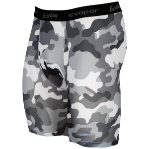 "Eastbay EVAPOR 8"" Compression Shorts 2.0 - Men's - Grey"