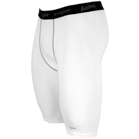 "Eastbay EVAPOR 10"" Compression Short 2.0 - Men's - White / Black"