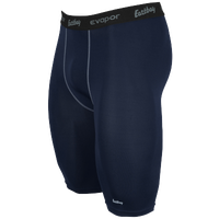"Eastbay EVAPOR 10"" Compression Short 2.0 - Men's - Navy / Grey"