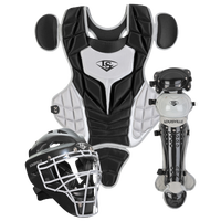 Louisville Slugger Series 5 3-Piece Catcher's Set - Youth - Black / Grey
