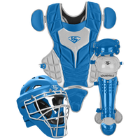 Louisville Slugger Series 5 3-Piece Catcher's Set - Youth - Blue / Grey