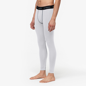 Eastbay EVAPOR Compression Tight 2.0 - Men's - White/Grey