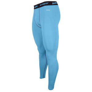 Eastbay EVAPOR Compression Tight 2.0 - Men's - Columbia Blue/Grey