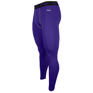Eastbay EVAPOR Compression Tight 2.0 - Men's - Purple/Grey