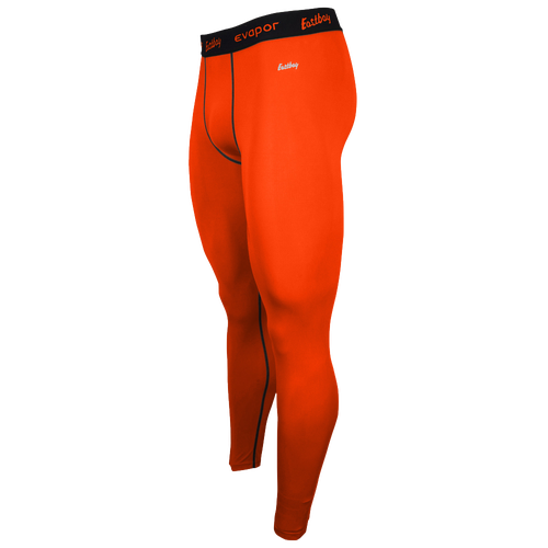Eastbay EVAPOR Compression Tight 2.0 - Men's - Basketball - Clothing - Orange/Black