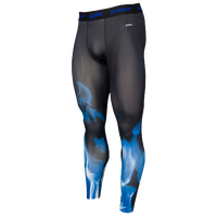 Eastbay EVAPOR Compression Printed Tight 2.0 - Men's - Black / Blue