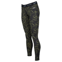 Eastbay EVAPOR Compression Tights - Women's - Black / Olive Green
