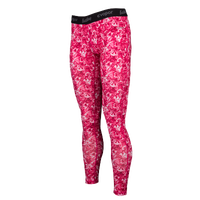 Eastbay EVAPOR Compression Tights - Women's - Pink / White
