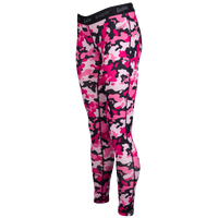 Eastbay EVAPOR Compression Tights - Women's - Pink / Black