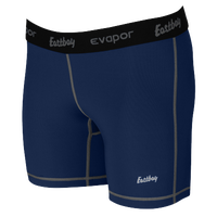 "Eastbay EVAPOR 5"" Compression Shorts - Women's - Navy / Black"
