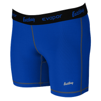 "Eastbay EVAPOR 5"" Compression Shorts - Women's - Blue / Black"