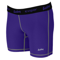 "Eastbay EVAPOR 5"" Compression Shorts - Women's - Purple / Black"