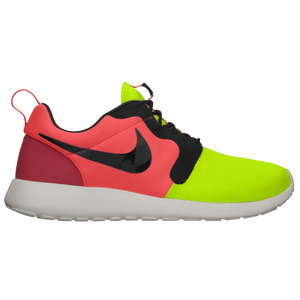 Nike Roshe Run - Men's - Volt/Black/Hyper Punch