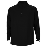 Eastbay EVAPOR Team 1/4 Zip Top - Men's - All Black / Black