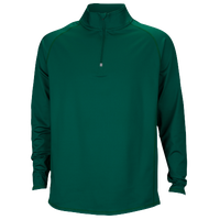 Eastbay EVAPOR Team 1/4 Zip Top - Men's - Dark Green / Dark Green