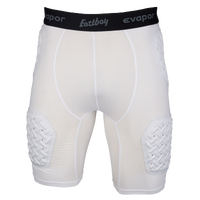 Eastbay Padded Compression Shorts - Men's - White / Black