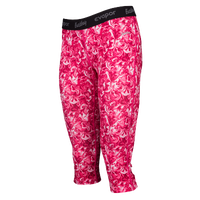 Eastbay EVAPOR Compression Capris - Women's - Pink / White