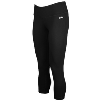 Eastbay Yoga Capris - Women's - All Black / Black