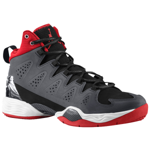 Jordan Melo M10 - Men's - Black/White/Anthracite/Gym Red