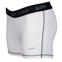"Eastbay Evapor 3"" Compression Shorts - Women's - White / Black"