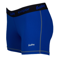"Eastbay Evapor 3"" Compression Shorts - Women's - Blue / Black"