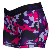 "Eastbay Evapor 3"" Compression Shorts - Women's - Purple / Pink"