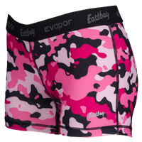 "Eastbay Evapor 3"" Compression Shorts - Women's - Pink / Black"