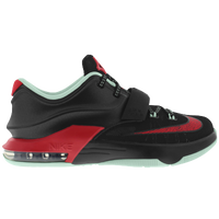 Nike KD 7 - Boys' Grade School - Kevin Durant - Red / Light Green