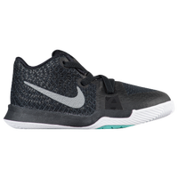 Nike Kyrie 3 - Boys' Toddler - Black / White