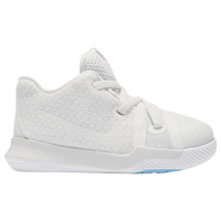 Nike Kyrie 3 - Boys' Toddler -  Kyrie Irving - Off-White / Light Blue