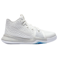 Nike Kyrie 3 - Boys' Preschool -  Kyrie Irving - Off-White / White