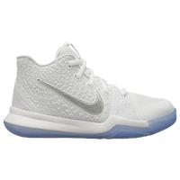 Nike Kyrie 3 - Boys' Preschool -  Kyrie Irving - White / Grey