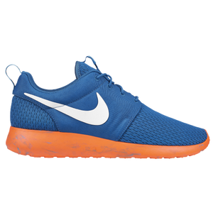 Nike Roshe Run - Men's - Military Blue/Vivid Blue/Total Orange/White