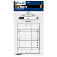 Champro Team Football Coach's Board - White / Black