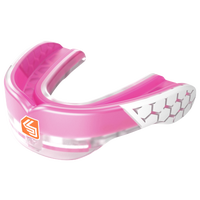 Shock Doctor Gel Max Power Flavored Mouthguard - Grade School - Pink / White