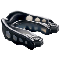Shock Doctor Gel Max Mouthguard - Grade School - Black / Black