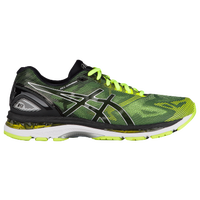 ASICS® GEL-Nimbus 19 - Men's - Black / Light Green