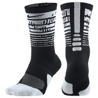 Nike Elite 1.5 Graphic Crew - Black / White