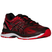 ASICS® GEL-Nimbus 19 - Men's - Black / Red
