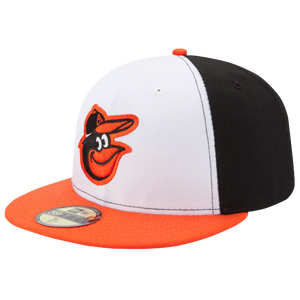 New Era MLB 59Fifty Authentic Cap - Men's - Baltimore Orioles - Black