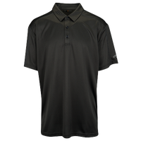 Callaway Essential Jacquard Polo - Men's - All Black / Black