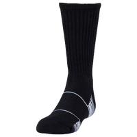 Under Armour Team Crew Socks - Youth - Black / White