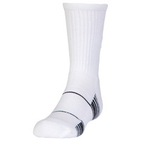 Under Armour Team Crew Socks - Youth - White / Black